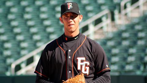Hurler Madison Bumgarner is the youngest Fresno player to hit a home run.