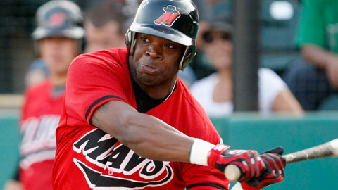 Joe Dunigan had a three-homer game at High Desert in May 2009.