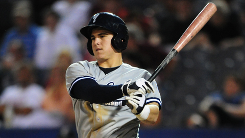 Tyler Austin batted .354 over his first 47 games as a pro in 2011.