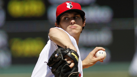 Jeff Locke ranks seventh in the International League with a 2.31 ERA.