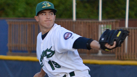 Tim Shibuya has recorded 39 strikeouts in 44 innings for Beloit.