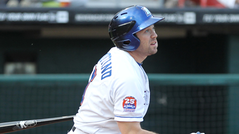 Vinny Rottino has hit 77 homers during a 10-year Minor League career.
