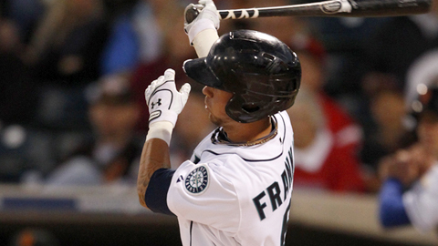 Nick Franklin is batting .400 over his last 10 games.
