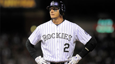 Troy Tulowitzki homered and singled before leaving in the third inning.