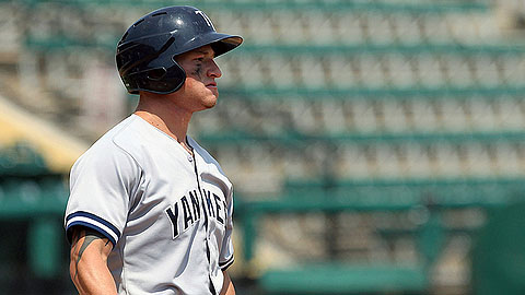 Slade Heathcott hit .302 with 29 RBIs in 65 games in the 2012 season.